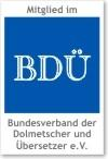 Bundesverband der Dolmetscher und Übersetzer e.V. BDÜ