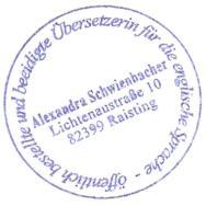 Dolmetscher und Übersetzerin Alexandra Schwienbacher